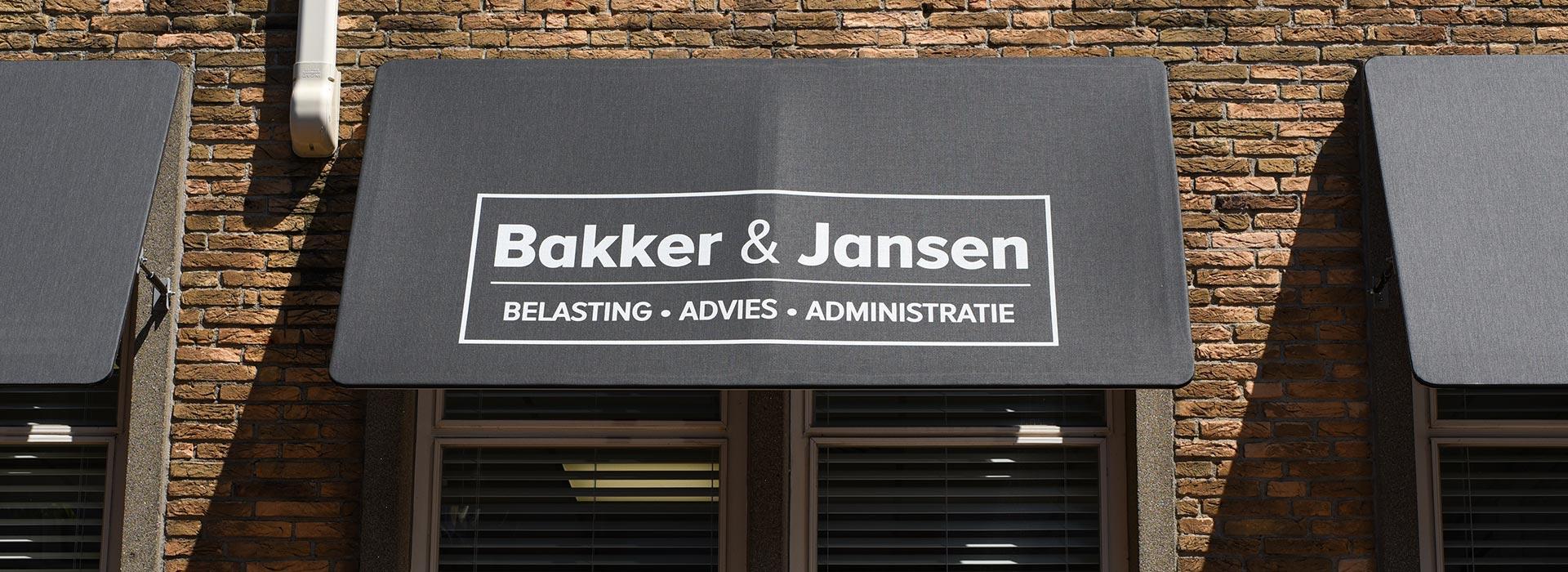 kantoor bakker en jansen